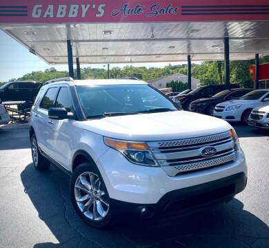 2011 Ford Explorer for sale at GABBY'S AUTO SALES in Valparaiso IN