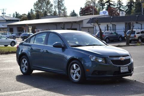 2012 Chevrolet Cruze for sale at Skyline Motors Auto Sales in Tacoma WA