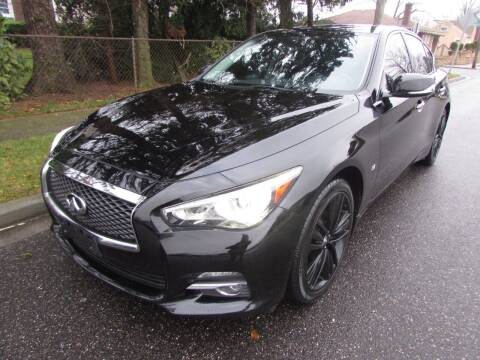 2015 Infiniti Q50 for sale at First Choice Automobile in Uniondale NY