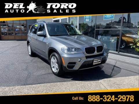 2012 BMW X5 for sale at DEL TORO AUTO SALES in Auburn WA