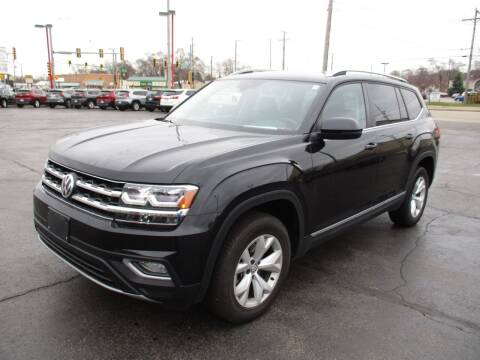 2018 Volkswagen Atlas for sale at Windsor Auto Sales in Loves Park IL