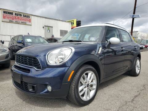 2012 MINI Cooper Countryman for sale at MENNE AUTO SALES in Hasbrouck Heights NJ