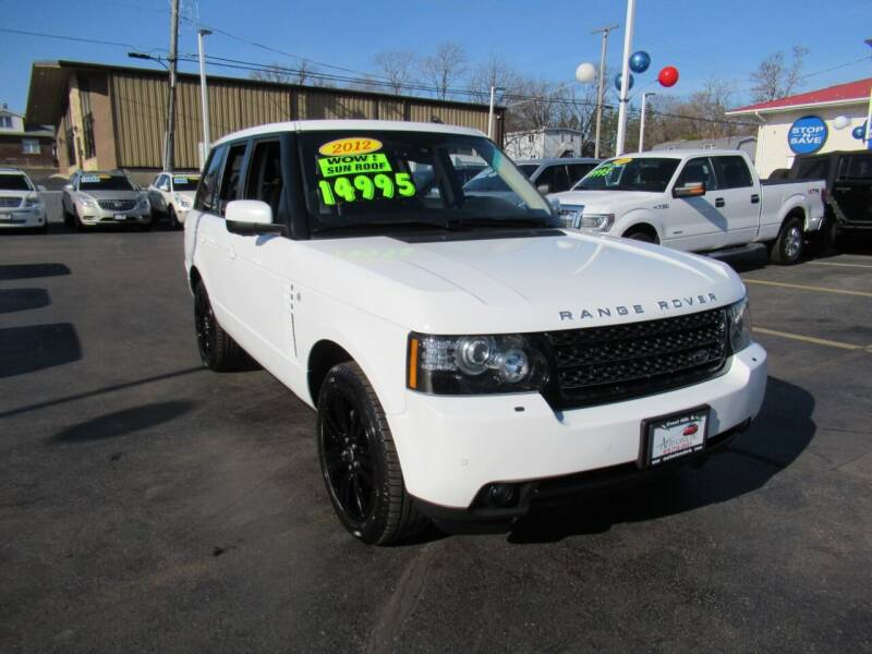 2012 Land Rover Range Rover for sale at Auto Land Inc in Crest Hill IL