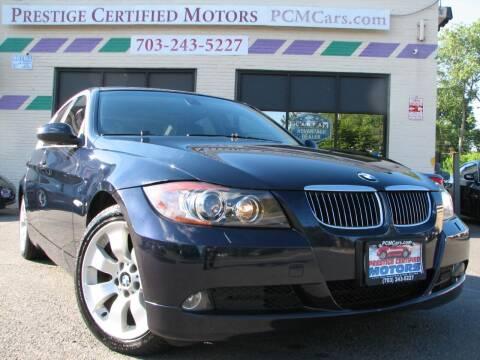 2006 BMW 3 Series for sale at Prestige Certified Motors in Falls Church VA