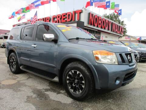 2012 Nissan Armada for sale at Giant Auto Mart 2 in Houston TX