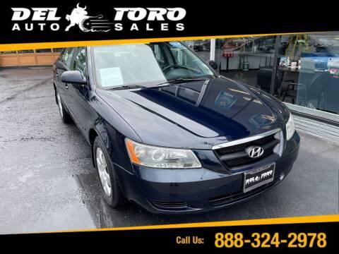 2008 Hyundai Sonata for sale at DEL TORO AUTO SALES in Auburn WA