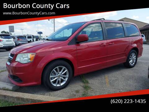 2013 Dodge Grand Caravan for sale at Bourbon County Cars in Fort Scott KS