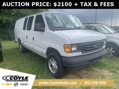 2005 Ford E-Series Cargo for sale at COYLE GM - COYLE NISSAN - Coyle Nissan in Clarksville IN