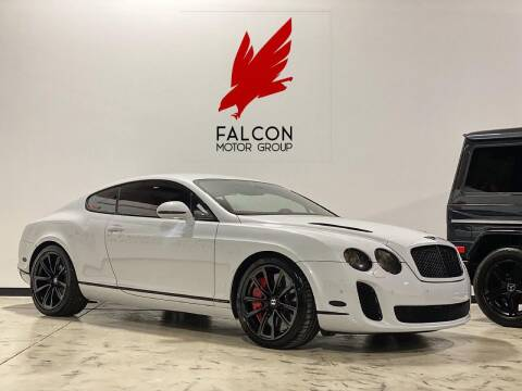 2010 Bentley Continental for sale at FALCON MOTOR GROUP in Orlando FL