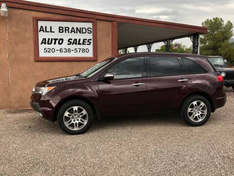 2007 Acura MDX for sale at All Brands Auto Sales in Tucson AZ
