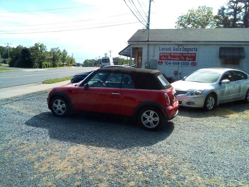 2008 MINI Cooper for sale at Locust Auto Imports in Locust NC