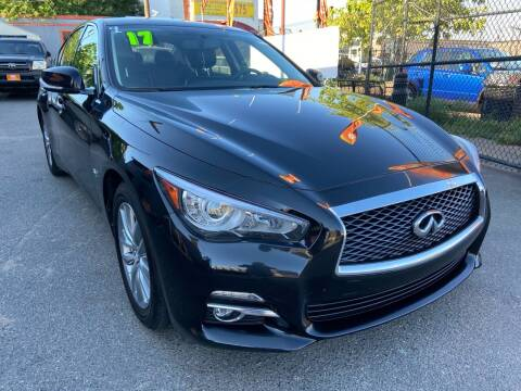2017 Infiniti Q50 for sale at TOP SHELF AUTOMOTIVE in Newark NJ