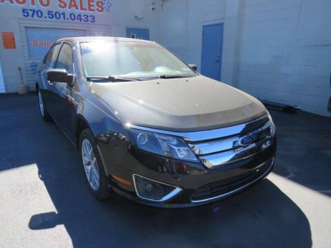 2010 Ford Fusion for sale at Small Town Auto Sales in Hazleton PA