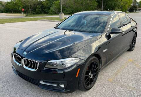 2016 BMW 5 Series for sale at Central Motor Company in Austin TX