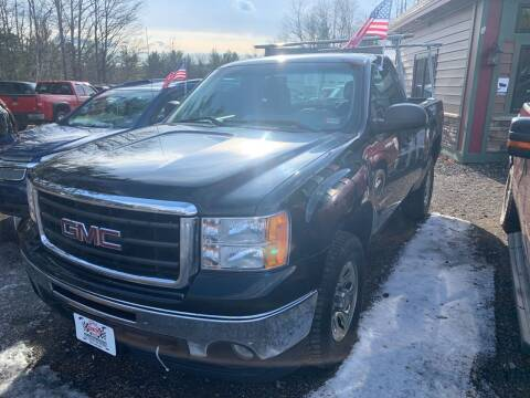 2011 GMC Sierra 1500 for sale at Winner's Circle Auto Sales in Tilton NH