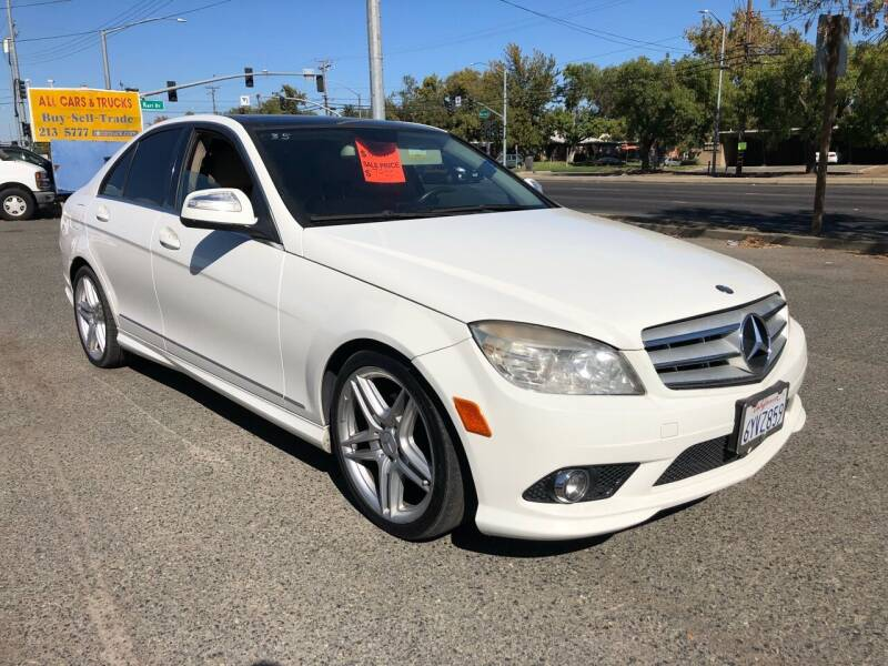 2009 Mercedes-Benz C-Class for sale at All Cars & Trucks in North Highlands CA