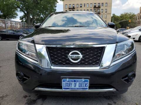 2015 Nissan Pathfinder for sale at LUXURY OF QUEENS,INC in Long Island City NY