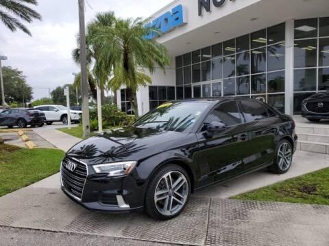 2018 Audi A3 for sale at Mazda of North Miami in Miami FL