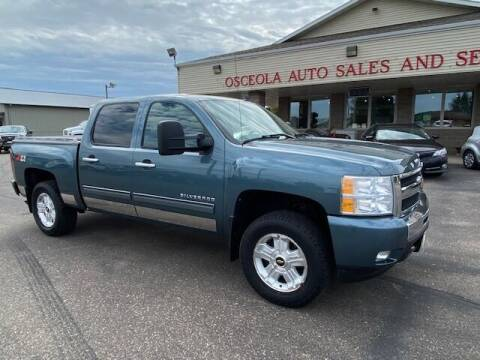 2011 Chevrolet Silverado 1500 for sale at Osceola Auto Sales and Service in Osceola WI