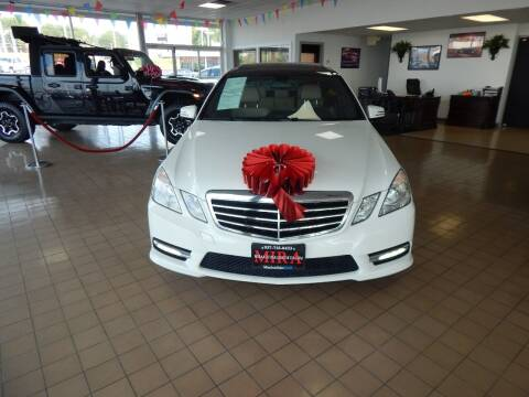 2012 Mercedes-Benz E-Class for sale at Mira Auto Sales in Dayton OH