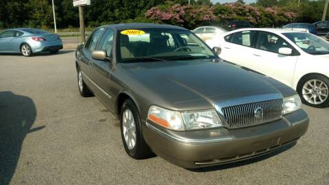 2005 Mercury Grand Marquis for sale at Kelly & Kelly Supermarket of Cars in Fayetteville NC