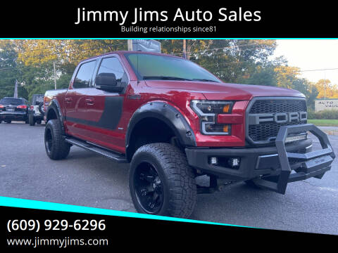 2017 Ford F-150 for sale at Jimmy Jims Auto Sales in Tabernacle NJ