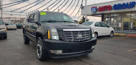 2008 Cadillac Escalade ESV for sale at I-80 Auto Sales in Hazel Crest IL