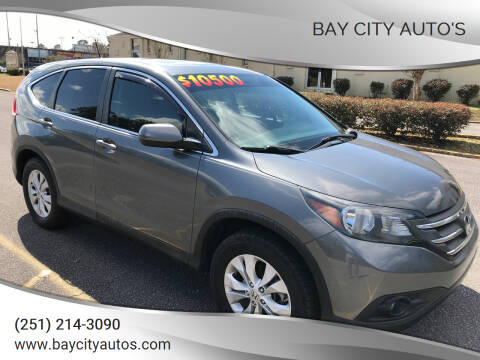 2012 Honda CR-V for sale at Bay City Auto's in Mobile AL