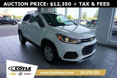 2017 Chevrolet Trax for sale at COYLE GM - COYLE NISSAN in Clarksville IN