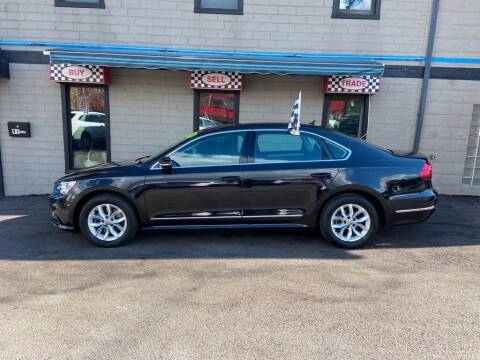 2017 Volkswagen Passat for sale at Sisson Pre-Owned in Uniontown PA