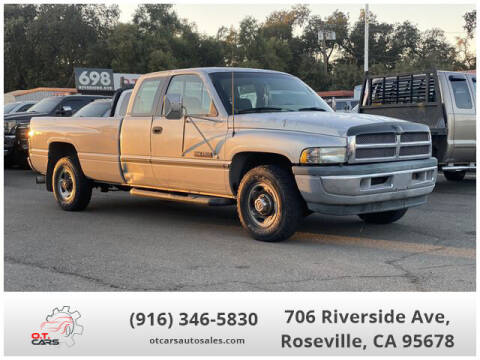 1996 Dodge Ram Pickup 2500 for sale at OT CARS AUTO SALES in Roseville CA