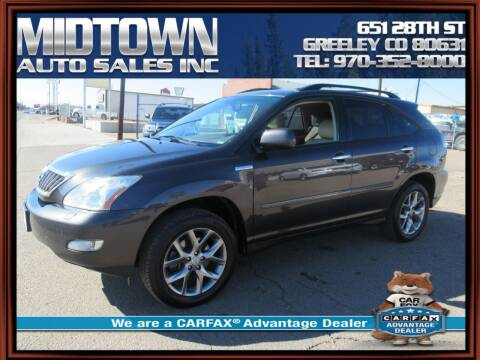 2009 Lexus RX 350 for sale at MIDTOWN AUTO SALES INC in Greeley CO