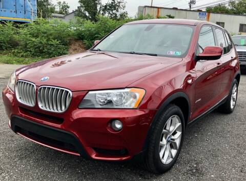 2013 BMW X3 for sale at Mayer Motors of Pennsburg in Pennsburg PA