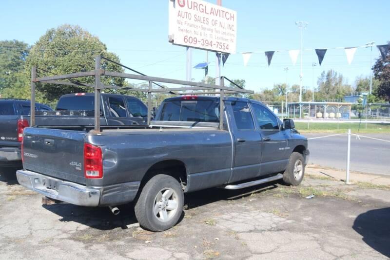 2003 Dodge Ram Pickup 1500 for sale at Urglavitch Auto Sales of NJ in Trenton NJ