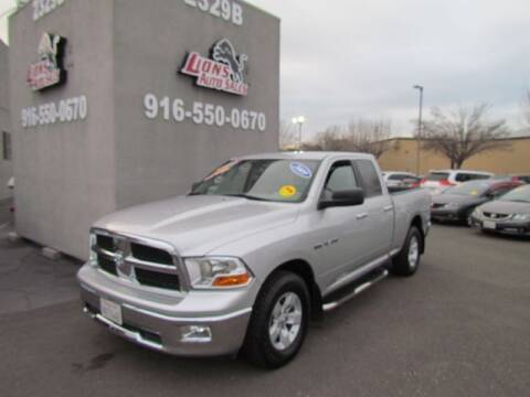 2009 Dodge Ram Pickup 1500 for sale at LIONS AUTO SALES in Sacramento CA