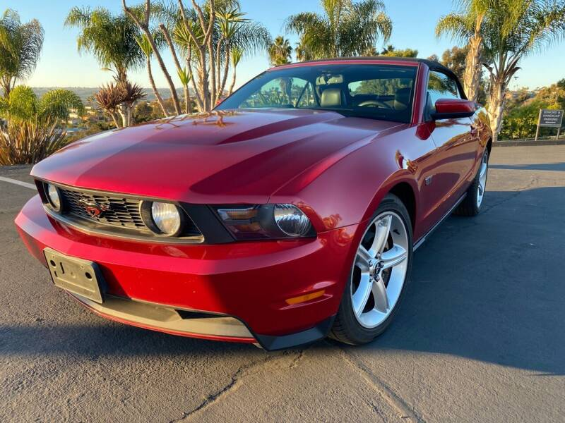 2010 Ford Mustang for sale at Bozzuto Motors in San Diego CA