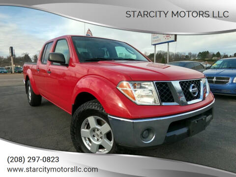 2007 Nissan Frontier for sale at StarCity Motors LLC in Garden City ID