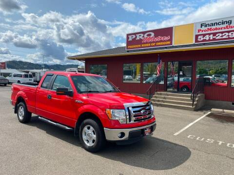 2012 Ford F-150 for sale at Pro Motors in Roseburg OR