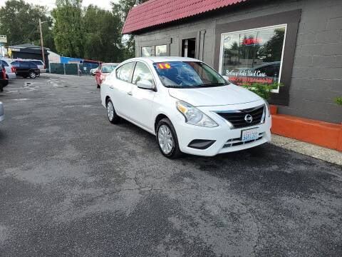 2016 Nissan Versa for sale at Bonney Lake Used Cars in Puyallup WA
