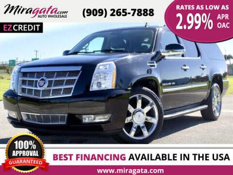 2013 Cadillac Escalade ESV for sale at Miragata Auto in Bloomington CA