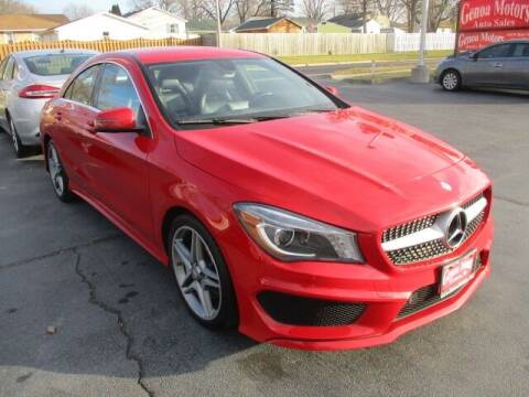 2014 Mercedes-Benz CLA for sale at GENOA MOTORS INC in Genoa IL