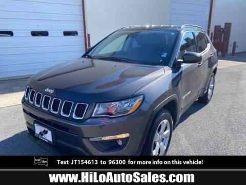 2018 Jeep Compass for sale at Hi-Lo Auto Sales in Frederick MD