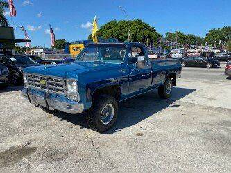 1979 Chevrolet C/K 10 Series for sale at Solares Auto Sales in Miami FL