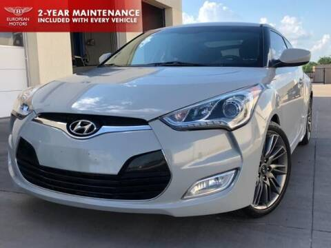 2013 Hyundai Veloster for sale at European Motors Inc in Plano TX