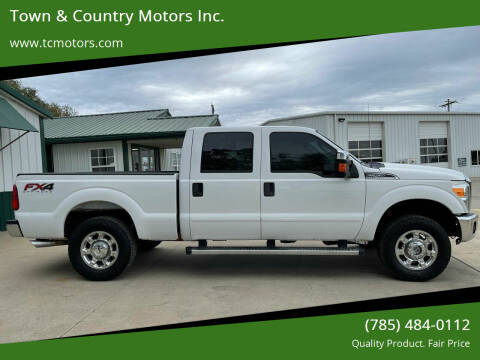 2015 Ford F-250 Super Duty for sale at Town & Country Motors Inc. in Meriden KS
