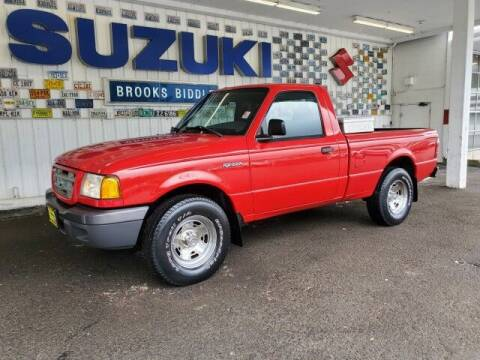 2001 Ford Ranger for sale at BROOKS BIDDLE AUTOMOTIVE in Bothell WA