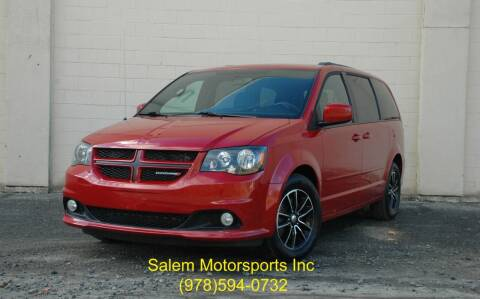 2016 Dodge Grand Caravan for sale at Salem Motorsports in Salem MA
