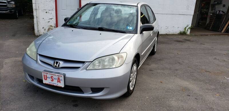 2005 Honda Civic for sale at Union Street Auto in Manchester NH