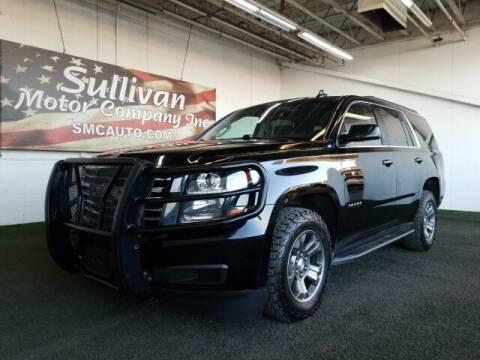 2018 Chevrolet Tahoe for sale at SULLIVAN MOTOR COMPANY INC. in Mesa AZ