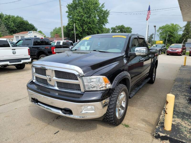 2012 RAM Ram Pickup 1500 for sale at Clare Auto Sales, Inc. in Clare MI